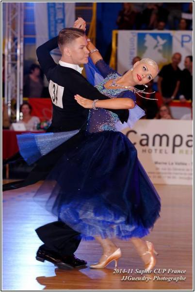 Jarek-Reelika 2014 Saphir Cup Paris 2