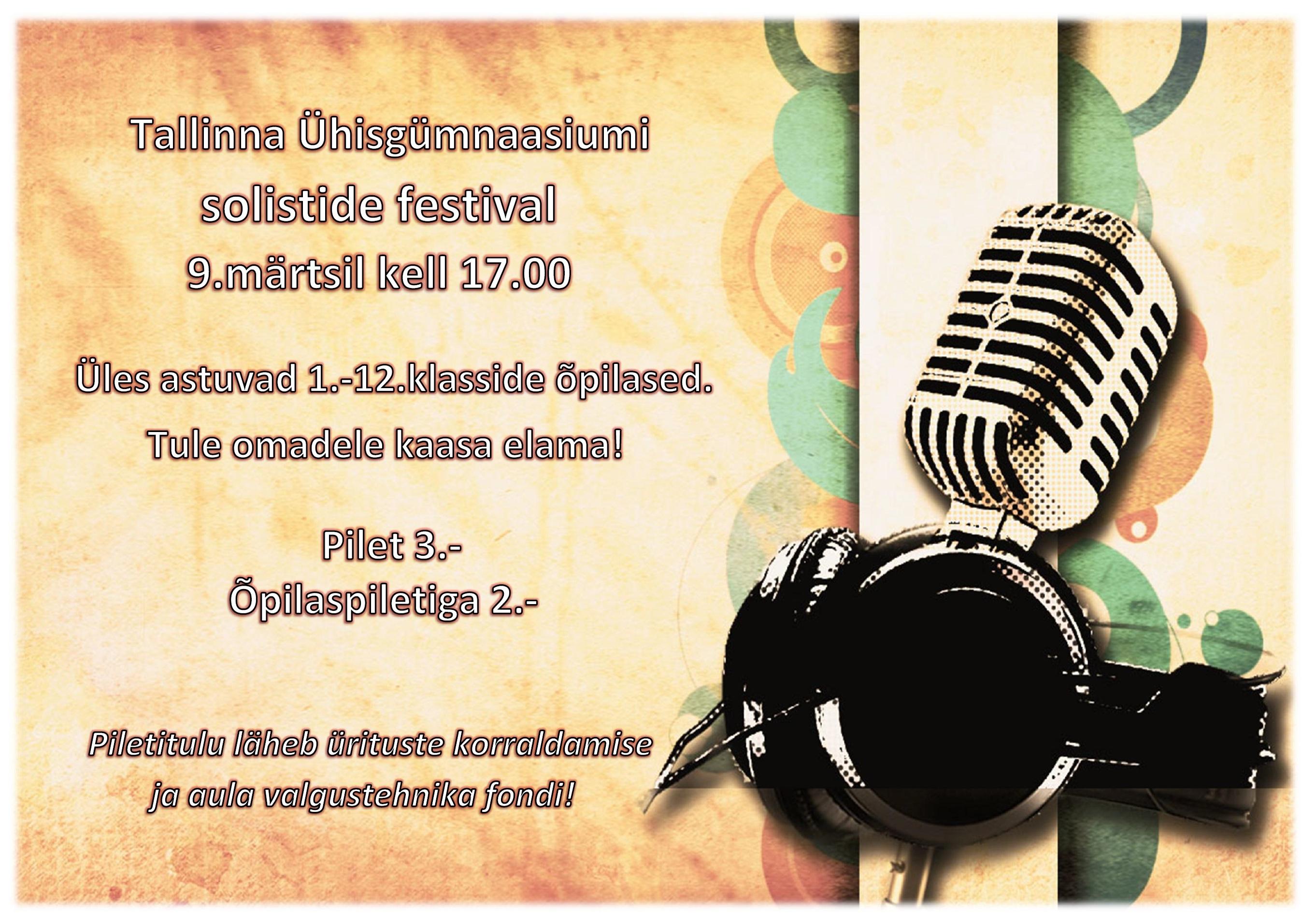 Solistide festival 2016